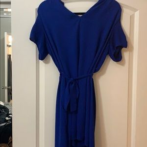 Blue collective concepts dress